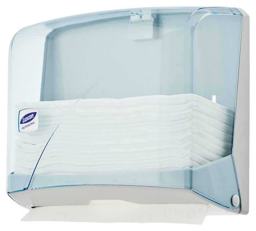 Диспенсер для полотенец лист Luscan Professional Zсложсинийпрозр  Luscan