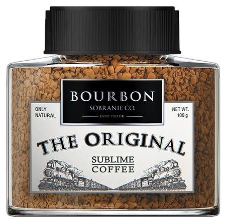 Кофе Bourbon THE Original растворимый стеклянная банка, 100 г  Bourbon