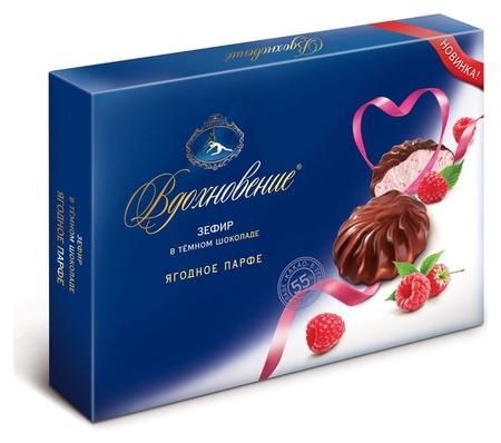 Зефир вдохновение ягодное парфе в темном шоколаде, 245г  Вдохновение
