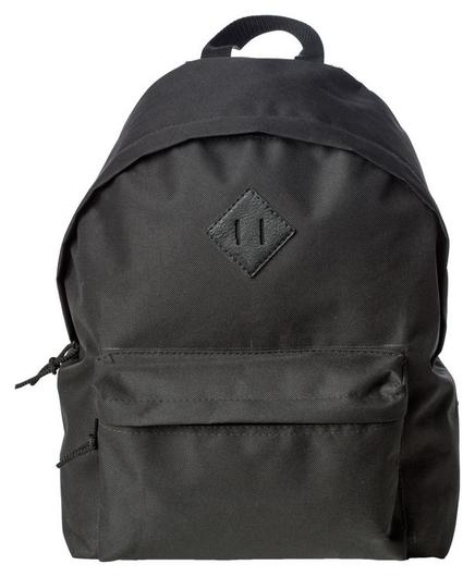 Рюкзак школьный №1 School универсальный, черный  №1 School
