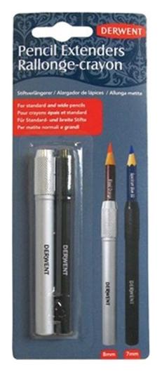 Набор удлинителей для карандаша Derwent 2шт 7мм. 8мм, 2300124  Derwent