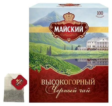 Чай майский высокогорный черный, 100 пак, 16761  Майский