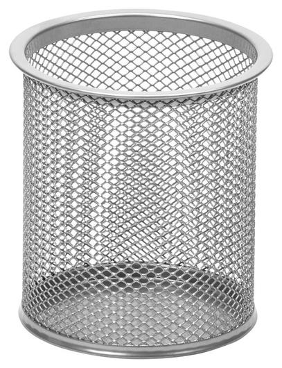 Подставка Attache для письм.прин.цилиндр.,d89х100мм, металл.сетка(Серебро) Attache