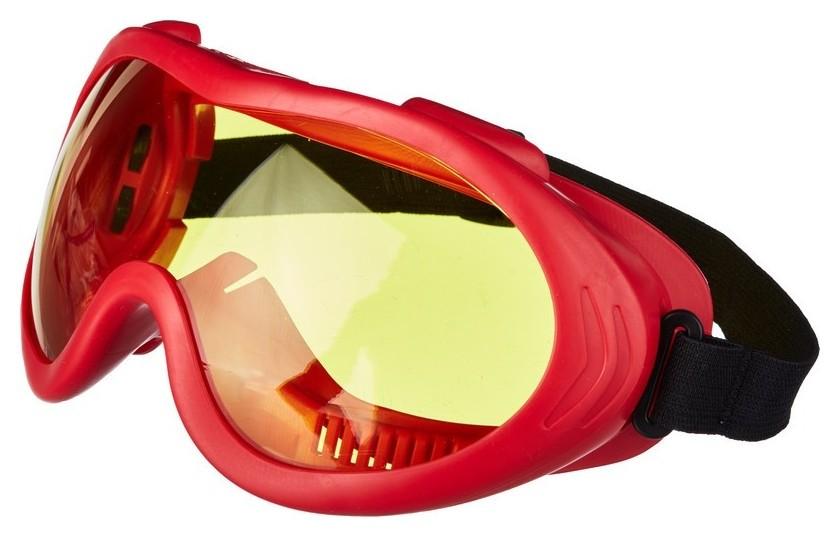 Очки защитные закрытые росомз зн55 Spark желтые (Артикул произв 25536)  Росомз
