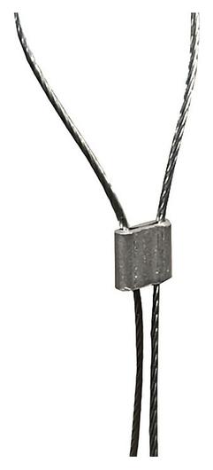 Клипсы зажимные для стального троса Wire-clip (100 шт/уп)  NNB