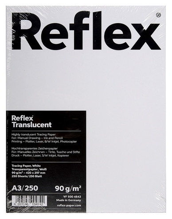 Калька Reflex (А3,90г) пачка 250л  Reflex
