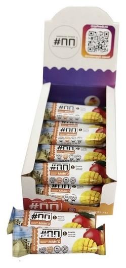 Батончик мюсли #ПП манго в йогуртовой глазури, 30г  Правильное питание ПП