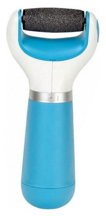Электрическая роликовая пилка для стоп с роликом средней жесткости, голубая  Scholl