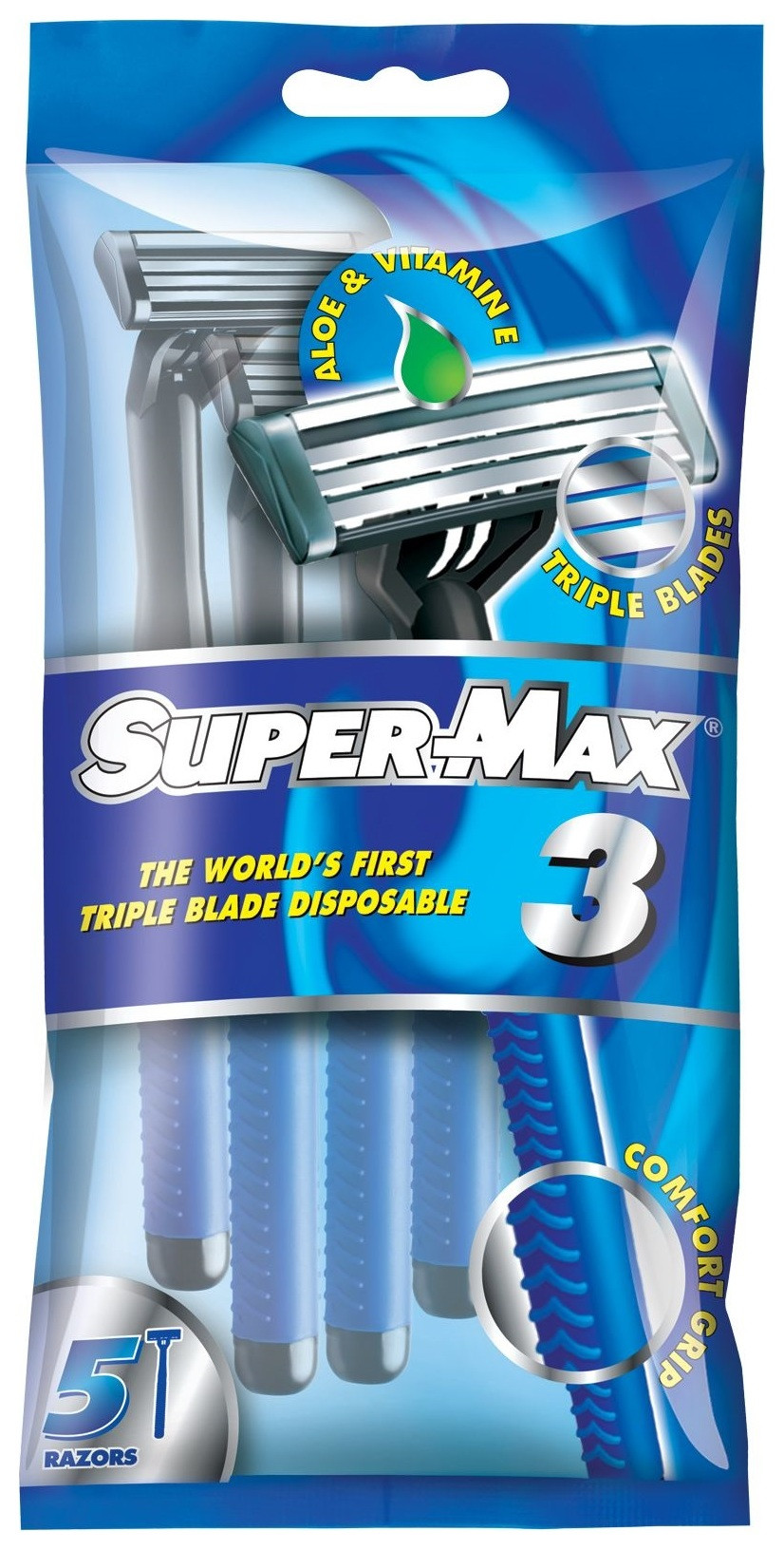 Одноразовые станки с тройным лезвием 3  Super Max