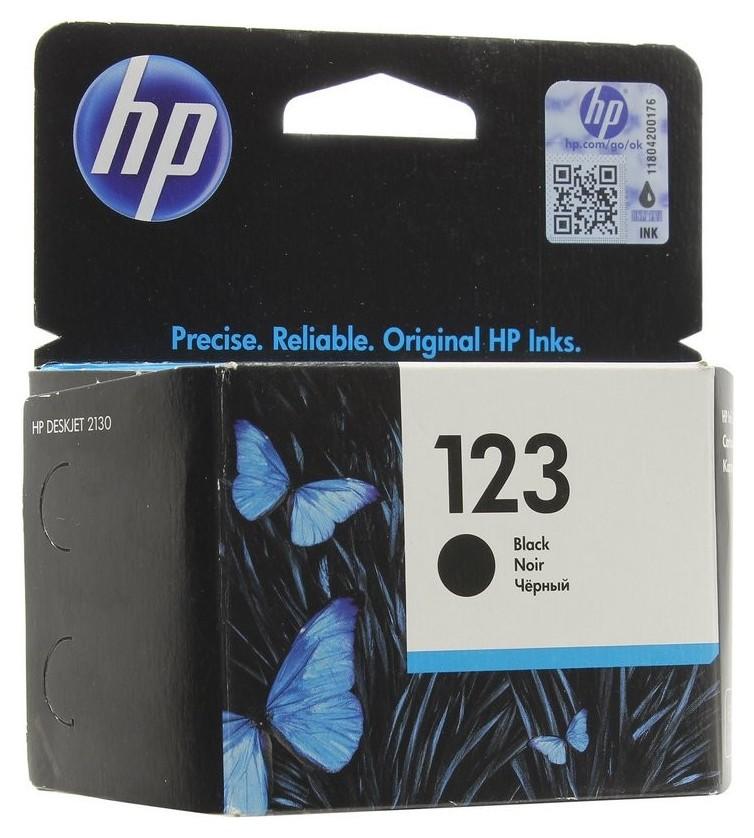 Картридж струйный HP 123 F6v17ae чер. для DL 2130  Hp