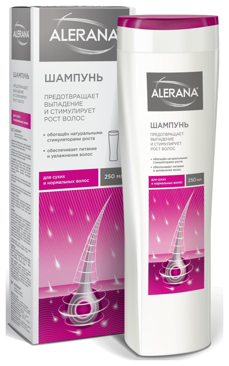 Шампунь для сухих и нормальных волос  Alerana