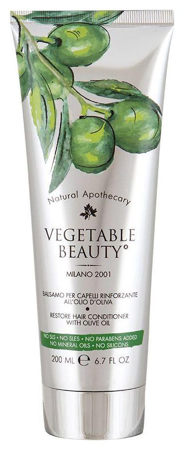 Восстанавливающий бальзам для волос с маслом оливы Vegetable Beauty