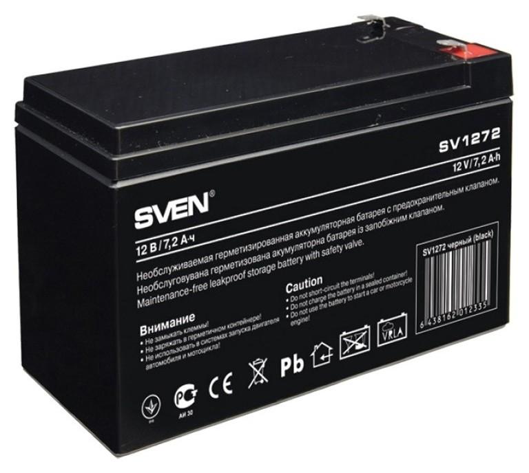 Батарея для ИБП Sven SV 1272 (12v/7,2ah) аккумуляторная  Sven