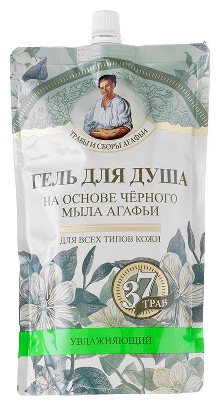 Гель для душа на основе черного мыла Рецепты бабушки Агафьи Травы и Сборы Агафьи Для бани