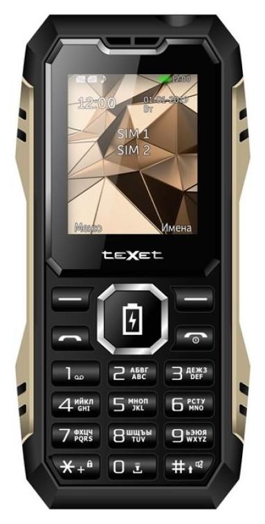 Мобильный телефон Texet Tm-d429 черный/антрацит (Tm-d429)  teXet