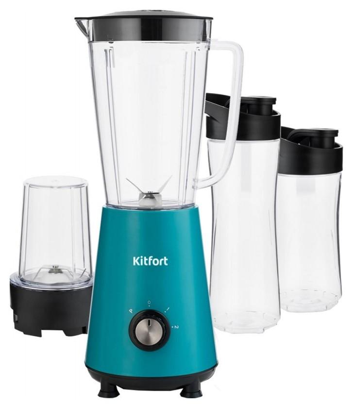Блендер кitfort кт-1340-2 голубой  Kitfort