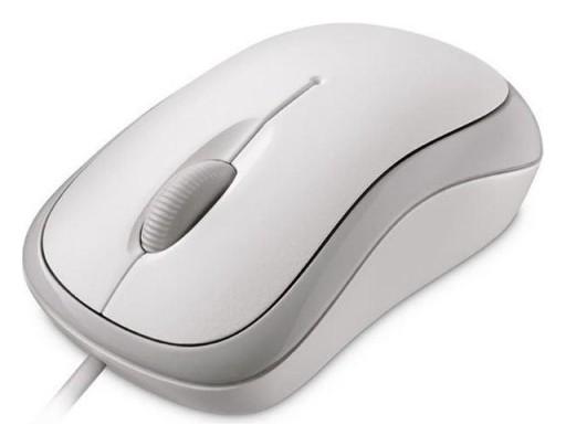Мышь компьютерная Microsoft Basic Mouse, Usb, White  Microsoft