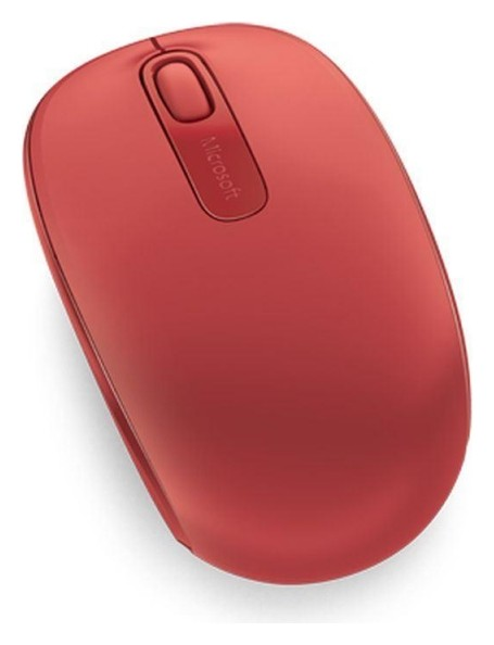 Мышь компьютерная Microsoft Mobile Mouse 1850 красн. (1000dpi) беспроводная  Microsoft