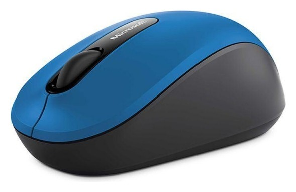 Мышь компьютерная Microsoft Bluetooth Mobile Mouse 3600, голубой  Microsoft