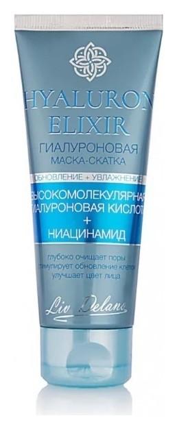 Гиалуроновая маска-скатка для лица Liv Delano Hyaluron Elixir