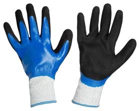 Перчатки защитные от порезов хорнет с нитриловым покрыт вспененным р-р 10  NNB
