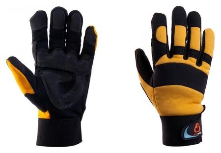 Перчатки защитные антивибрационные Jetasafety Jav01 черно-желт. р.xl (10) Jeta Safety