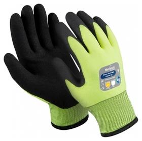 Перчатки защитные нейлон/пвх Manipula юнит ХАЙ ВИЗ (Tnhа-33/wg-781) р11  Manipula