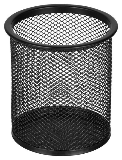 Подставка Attache для письм. прин. цилиндр., D89х100мм, металл.сетка чёрная  Attache