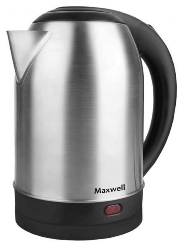 Чайник Maxwell Mw-1077,1800 Вт, 1,8л металл  Maxell