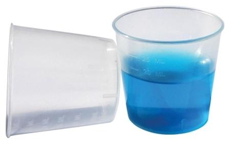 Стакан пластик. для приема лекарств 30мл виталфарм 100 штуп  Виталфарм