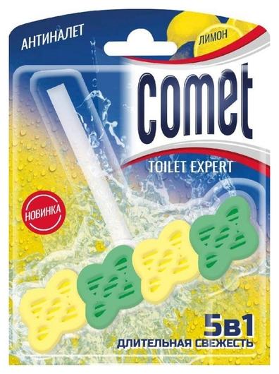 Блок для унитаза Comet 48г лимон блистер  Comet