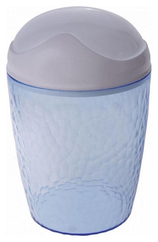 Контейнер настольный Natural Stone, 1л голубой прозрачный Bq1202глпр  BranQ