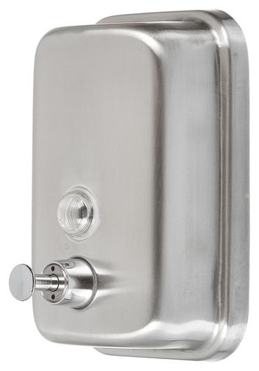 Дозатор для жидкого мыла Solinne 500мл из нерж.стали(Матовый)  Solinne