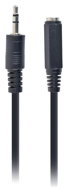 Переходник 2 х Jack 3.5 - Jack 3.5, F/m, 0.1 м, Cablexpert, ч, Cca-415-0.1m  Cablexpert