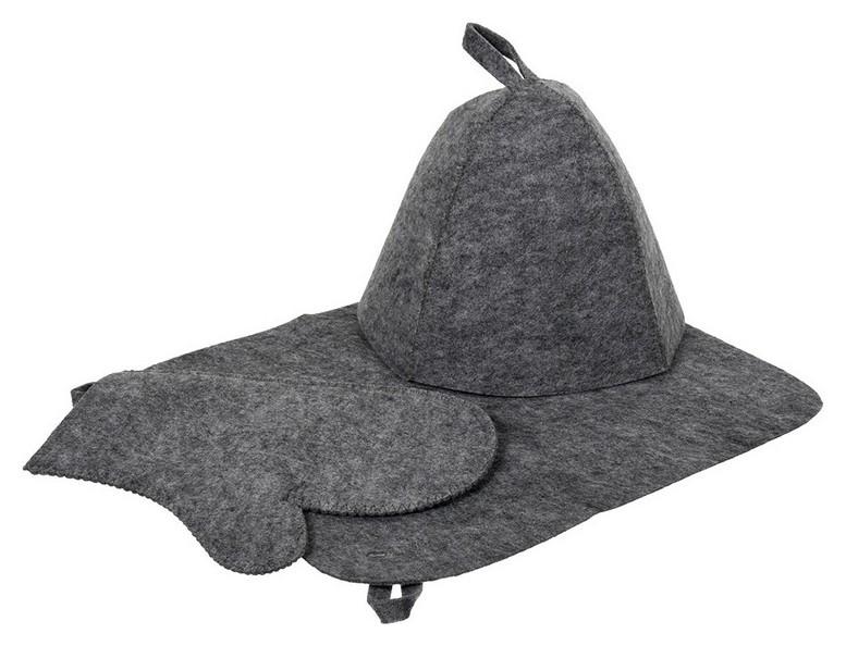Набор из трех предметов Шапка, коврик, рукавица  Hot Pot