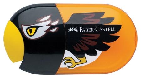 Точилка с ластиком Faber-castell Eagle, 2 отверстия, контейнер  Faber-castell