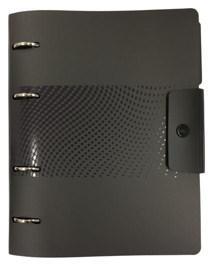 Ежедневник недатированный Attache Digital черный,а5, 272стр., на кольцах  Attache