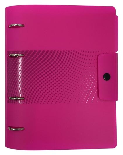 Ежедневник недатированный Attache Digital розовый,а5, 272стр., на кольцах  Attache