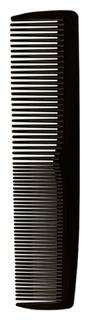 Расческа -гребень Lei пластиковый 017, без ручки, черный 017002  Lei