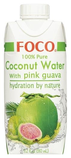 Напиток Foco вода кокос- роз. гуава 0,33 л. тетрапак Foco