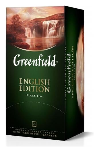 Чай Greenfield черный English Edition, 25пак/1уп 1382-10  Greenfield