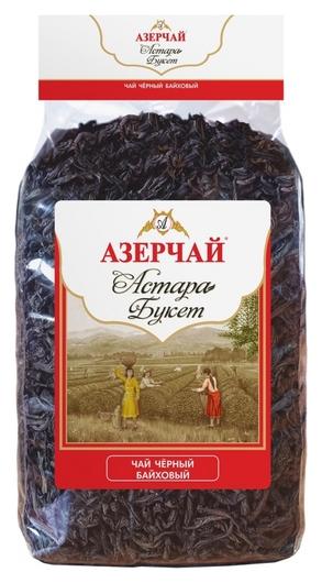 Чай азерчай астара букет черный байховый крупнолистовой в прозрач.уп., 400г  Азерчай