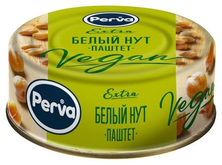 Консервация паштет с белым нутом Perva Extra ключ, 100г  Perva