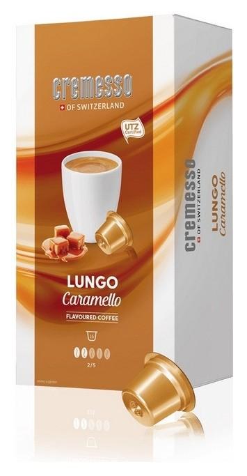 Кофе в капсулах Cremesso Caramello 16 порций  Cremesso