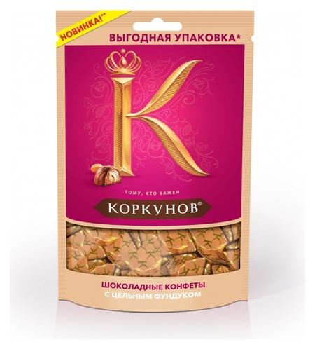 Конфеты шоколадные а.коркунов молочный шоколад, 118г  А.коркунов