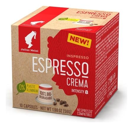 Кофе в капсулах Julius Meinl эспрессо крема Bio, 10 кап  Julius Meinl
