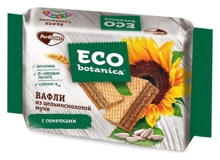 Вафли Eco Botanica из цельносмолотой муки с семечками, 145г  Eco botanica
