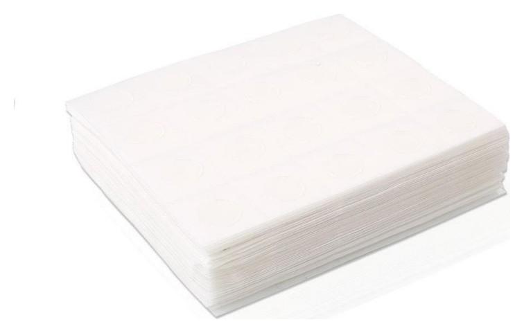 Салфетка спанлейс н/с 10х10см белая 40г/м2 100 шт. 00-143  Чистовье