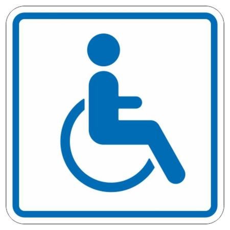 Знак безопасности И13 дост объекта д инвалид передвигающихся на колясках  Технотерра