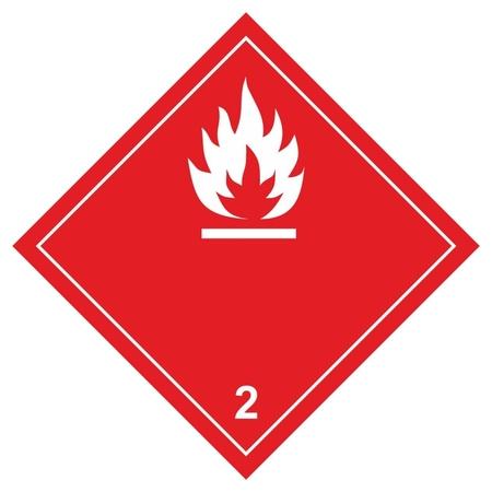Знак безопасности о3-1 легковоспламеняющиеся жидкости, 250x250 мм, пленк  Технотерра